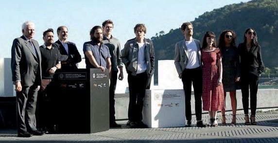 El equipo de la película.