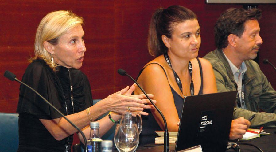 Lucia Recalde, responsable de la Unidad  MEDIA - Programa Europa Creativa. MARC BOSCH