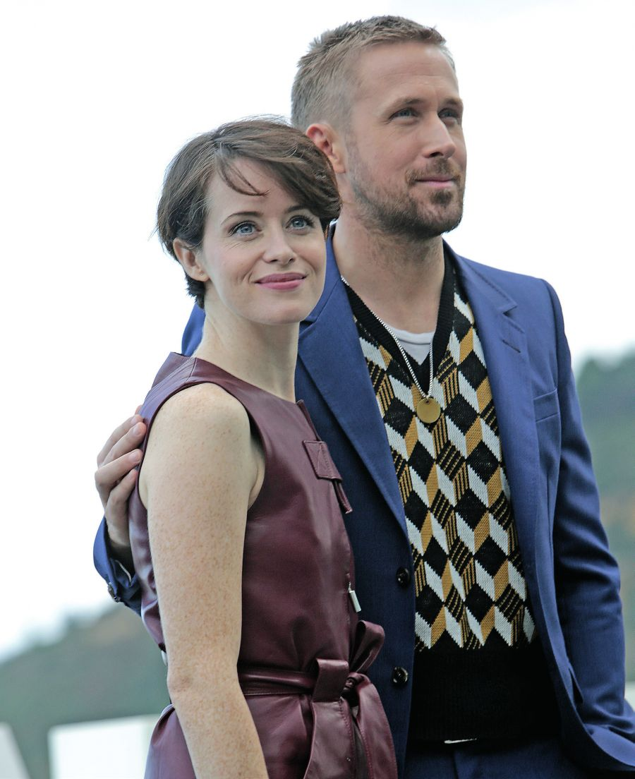 Claire Foy y Ryan  Gosling en Donostia. MONTSE CASTILLO