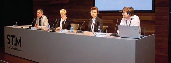 Roberto Cueto, Eda Koppel, Dita Rietuma, Audrius Kuprevicius. MARC BOSCH