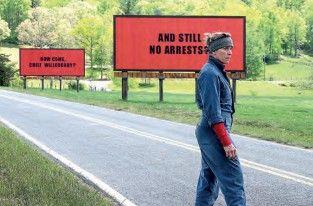 Three Billboards Outside Ebbing, Missouri.