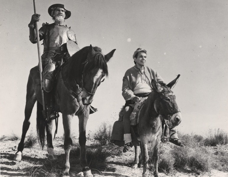 Résultat de recherche d'images pour Don Quijote Cabalga De Nuevo / Don Quixote Rides Again