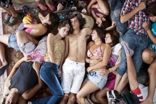 толпа фото порно молоденькие